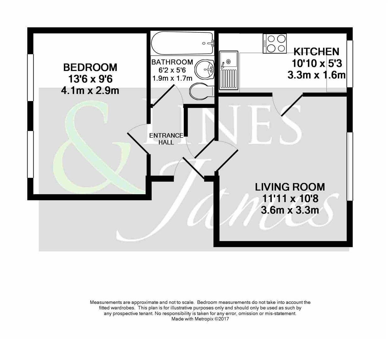 Floorplan for Somergate, Horsham